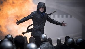 Taron Egerton as Robin Hood. The outlaw from the English midlands talks pure Estuary. Photograph: Larry Horricks/Lionsgate