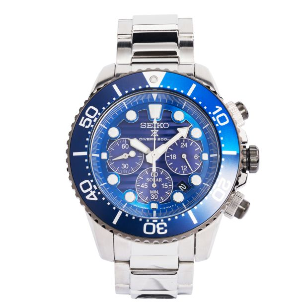 Save the Ocean Seiko Collection watch, €489, including donation to Fabien Cousteau Ocean Learning Centre