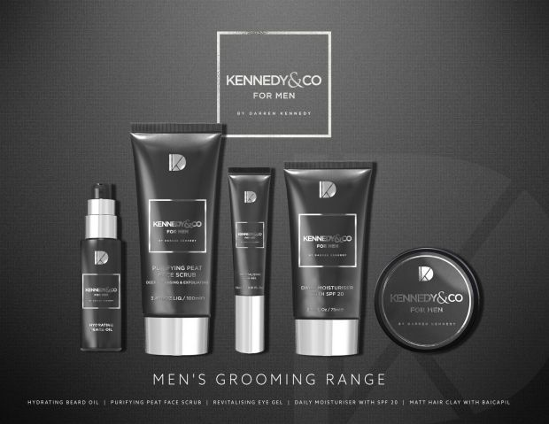Kennedy&Co grooming range, €12.95-€14.95, Dunnes Stores and pharmacies countrywide