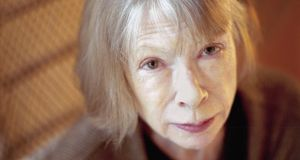 Joan Didion: understands that, often, the only way to tell the truth is to be frank about the ways in which you are ill-equipped to do so.   Photograph: Neville Elder/Corbis Sygma