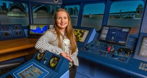 Capt Sinéad Reen, of the National Maritime College of Ireland,  was the first Irish woman to qualify as a master mariner. Photograph: Michael Mac Sweeney/ Provision