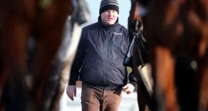 Gordon Elliott: has had a Troytown stranglehold in recent years winning with Balbriggan, Riverside City, Empire Of Dirt and last year with Mala Beach. Photograph: Dan Sheridan/Inpho
