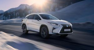 Lexus has stretched out the RX to fit in a pair of folding third row seats in the boot