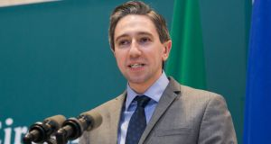 Minister for Health Simon Harris proposed the amendment which would allow a second medical practitioner to become involved following the three-day waiting period. Photograph: Gareth Chaney Collins