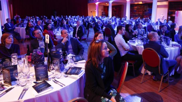 Attendees at The Irish Times Innovation Awards 2018. Photo: Conor McCabe.
