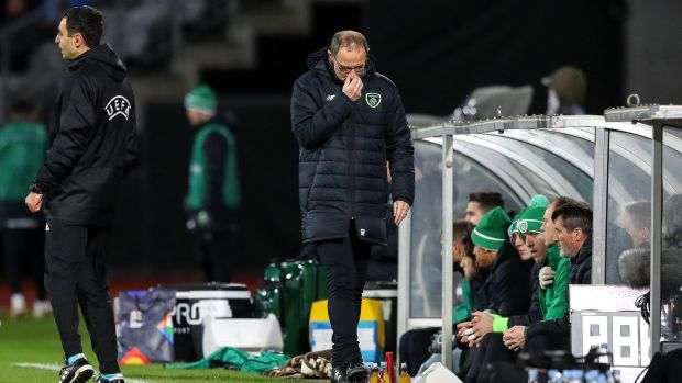 Martin O'Neill's five-year stint as Ireland boss is over. Photograph: Ryan Byrne/Inpho