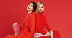 Christmas colours: red is right on style this season. Photograph: Veronika Faustmann