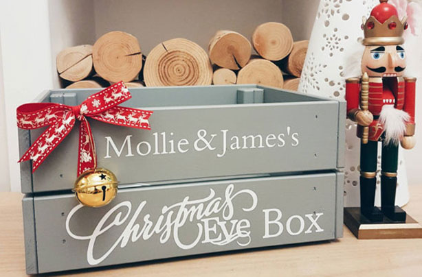 Christmas Eve box: fill one with festive goodies to act as a kind of taster for the big presents to come