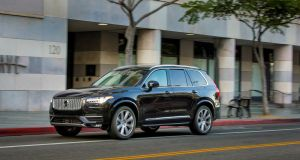 Volvo XC90: The big seven-seat SUV was the car that kicked off the current design and engineering revolution at Volvo