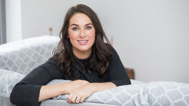 At home with Arwen Foley. Photograph: Tom Honan/The Irish Times.