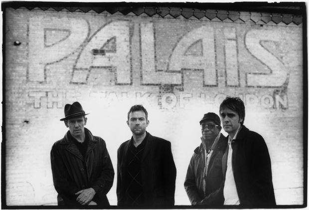 "The Good, The Bad & The Queen: Tony Allen, Damon Albarn, Simon Tong and Paul Simonon. ""We're a very old-fashioned band. These days, you can't get more old-fashioned than making an album"""