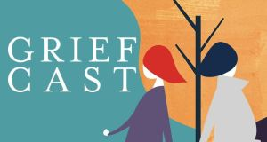 Griefcast features interviews with such celebrities as Aisling Bea, Adam Buxton and Ana Matronic