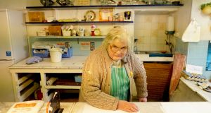 "Irene Edwards: ""We don't talk politics in the shop."" Photograph: Enda O'Dowd"