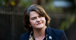 "DUP leader Arlene Foster. ""There has been much comment on the DUP forsaking its image as the party of business but that was always an affectation with little evidence of voter appeal."" Photograph: Tom Honan"