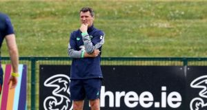 Former Republic of Ireland assistant manager Roy Keane now has a choice to make whether to stay in management or not. Photograph: Bryan Keane/Inpho