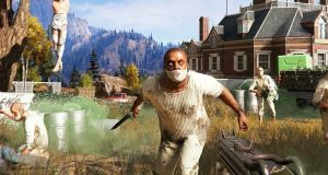 Top-selling games in the run-up to Christmas include a host of over-18s titles including Far Cry 5, above