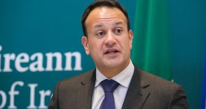 "Taoiseach Leo Varadkar said the Government proposed to continue to increase tax credits ""and anyone who pays income tax would benefit from that"". Photograph: Gareth Chaney/Collins"