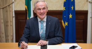 From 2020 onwards, the cost of not meeting our climate commitments will grow very significantly, Minister for Climate action Richard Bruton has said. File photograph:  Tom Honan
