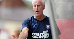 Mick McCarthy remains favourite to replace Martin O'Neill as Republic of Ireland manager. Photograph: Dan Sheridan/Inpho