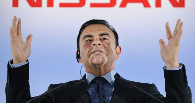 Nissan ousts chairman Carlos Ghosn after arrest