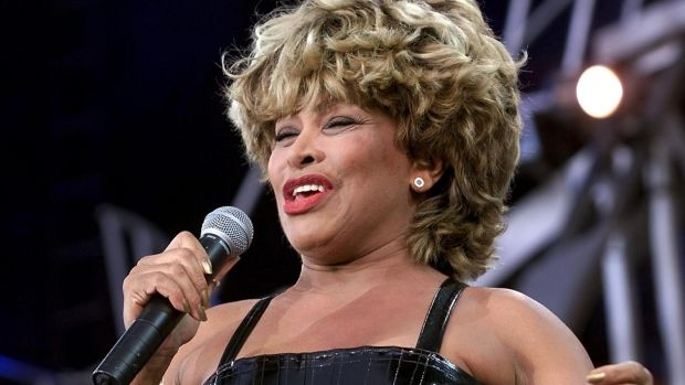 Tina Turner on stage in Switzerland
