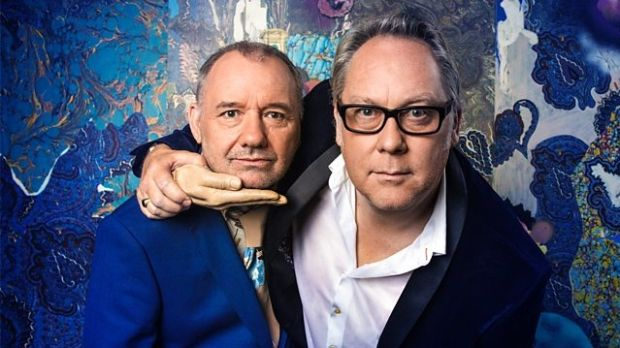 Vic Reeves and Bob Mortimer provide songs, sketches and silliness in buckets. Photograph: BBC