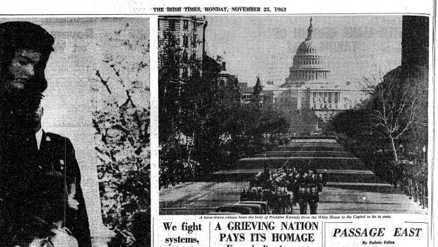 Page 4, November 25th, 1963: the procession from the White House to Capitol Hill
