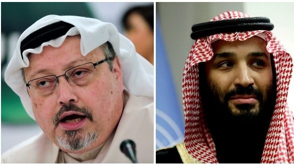 Saudi Arabia has said Crown Prince Mohammed bin Salman had no prior knowledge of Jamal Khashoggi's killing at the Saudi consulate in Istanbul six weeks ago. Photographs: The Irish Times