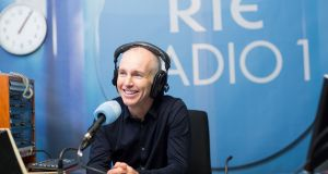 Ray D'Arcy: fed up with the Angelus. Photograph: Patrick Bolger/RTÉ
