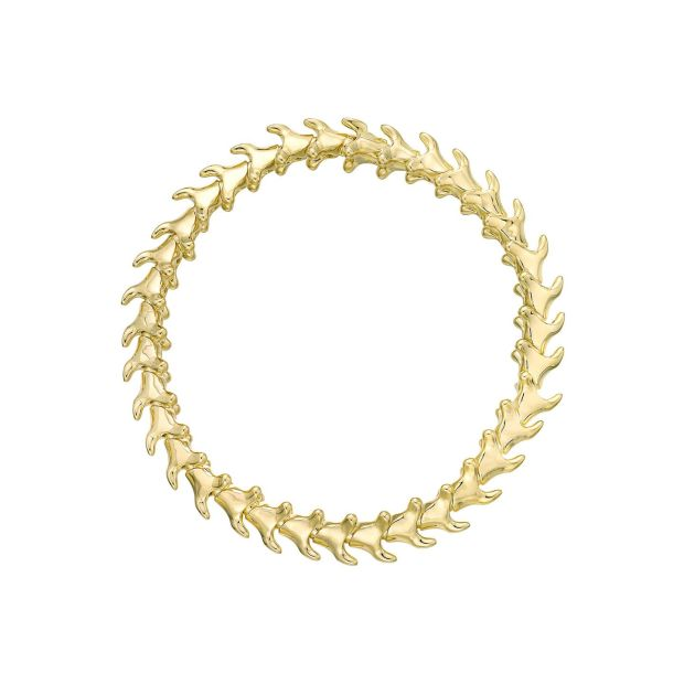 Serpent's Trace - a slim gold bracelet by Shaun Leane 605 at Weir & Co., Grafton Street, Dublin