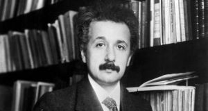 """Most scientists and historians would agree that Einstein's quest was driven by scientific curiosity."" Photograph:  Getty Images)"