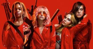 Odessa Young, Suki Waterhouse, Hari Nef and Abra in Assassination Nation
