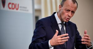 Friedrich Merz: said he was at  most 'upper middle-class'. Photograph: Epa/Ulrich Hufnagel