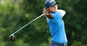 Leona Maguire made it to one under after five holes before rain ended play at the Andalucia Open de Espana in Marbella. Photograph/Scott Halleran/Getty Images