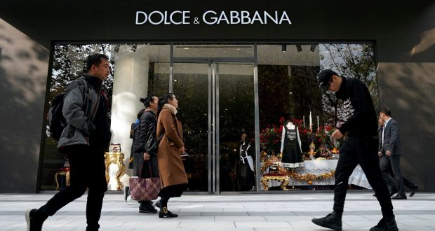 b1645e82733 A Dolce   Gabbana store in Shanghai. The furore over its ads threatened to  grow