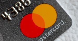 Mastercard has warned it might be fined more than $1 billion (€877 million) if found guilty of breaching EU antitrust rules. Photograph: Thomas White/Reuters