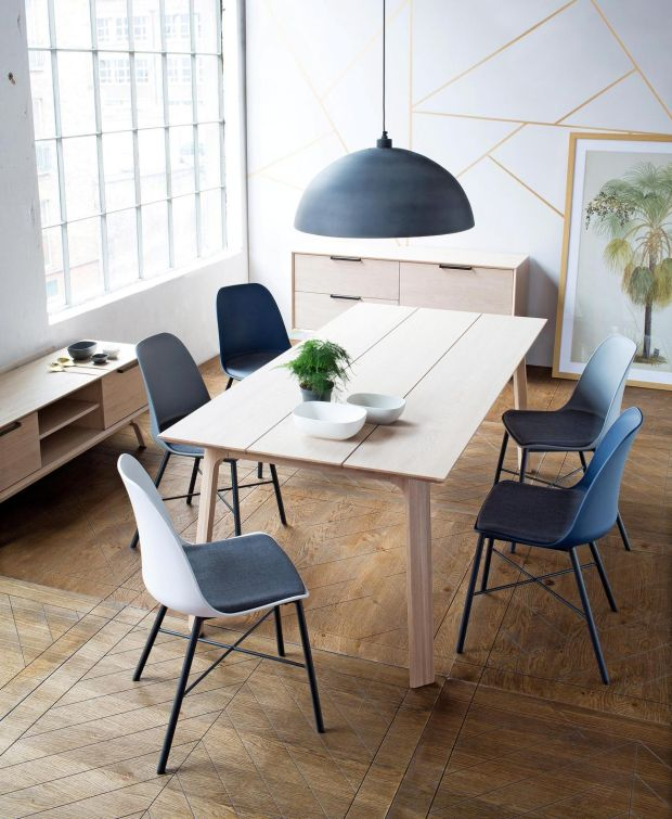 Scandi-style oak Wilbur dining table, reduced to €695 at Harvey Norman