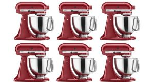 KitchenAid: the Empire Red stand mixer is down to almost half-price, at €299