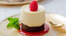 White-chocolate mousse cakes: a gluten-free treat sure to impress
