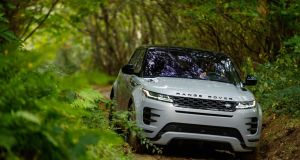 On the surface, the influence of the Range Rover Velar is clear - the headlights and tail-lights are almost a direct lift from Land Rover's mid-size luxury SUV, and so too are the pop-out door handles