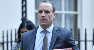 Britain's former Brexit secretary Dominic Raab. File photograph:  Ben Stansall/AFP/Getty