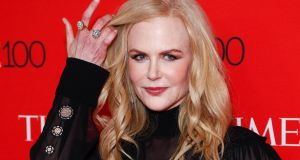 Nicole Kidman joins Graham Norton on Friday. Photograph: Justin Lane/EPA