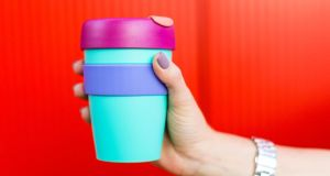 Shot in the arm: it is heartening to see how many coffee shops and other food businesses are cutting back on single-use containers. Photograph: iStock/Getty