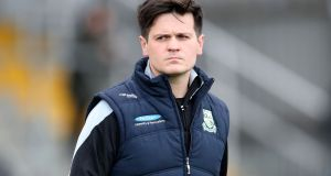 "Portlaoise manager Malachy McNulty: ""The dream is to bring this team all the way.""Photograph: Bryan Keane/Inpho"