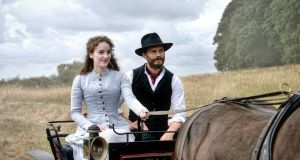 Fields of gold: Irish actors Ann Skelly and Jamie Dornan in 'Death and Nightingales', a  co-production between the BBC and RTÉ
