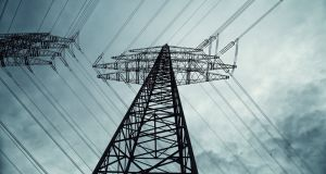 Eirgrid needs to tie its end points in Kildare and Meath together.That could mean building a new high-voltage overhead line, or putting the cables underground. Photograph: iStock