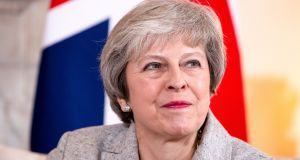 British prime minister Theresa May will be in Brussels on Saturday to meet European Commission president Jean-Claude Juncker and European Council  president Donald Tusk. Photograph: Will Oliver/Bloomberg
