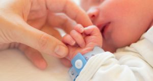 A total of 140 infants underwent brain and body-cooling treatment in four Irish hospitals in 2016 and 2017 after experiencing reduced oxygen or blood supply at birth. Photograph: iStock