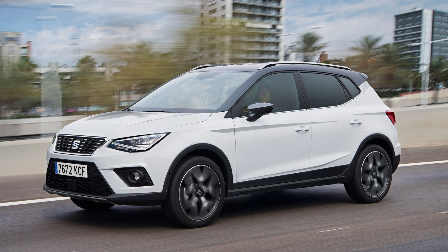 62: Seat Arona – May be an Ibiza on stilts but a good crossover bet