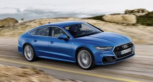 Audi A7: Handling is assured and precise, rather than outright thrilling, but you'll not want to get out after a long journey